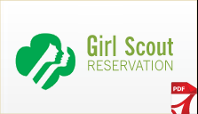 Girl Scout Reservation Form