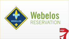 Weblos Reservation Form