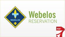 Weblos Reservation Form